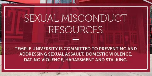Sexual Misconduct Resources